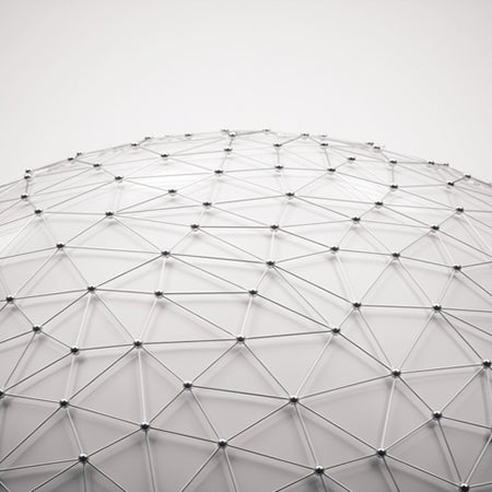 image of a geodesic dome